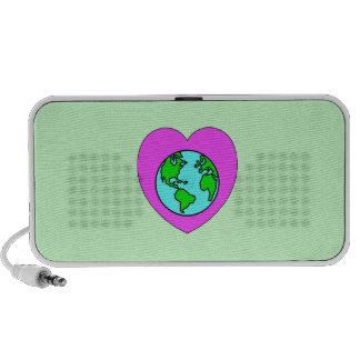 Heart Our Planet Portable Speakers
