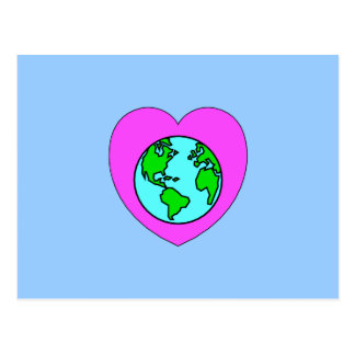 Heart Our Planet Postcard