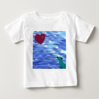 Heart over yonder. baby T-Shirt