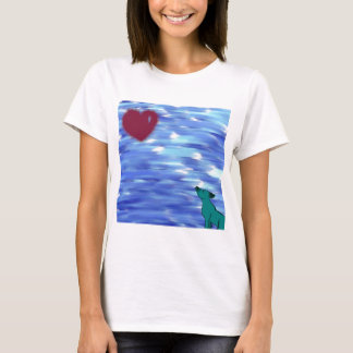 Heart over yonder. T-Shirt
