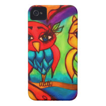 Heart Owls iPhone 4 Cover