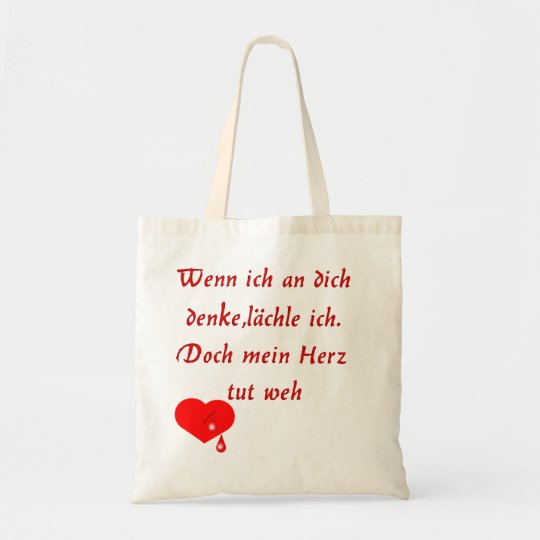 Heart pain tote bag