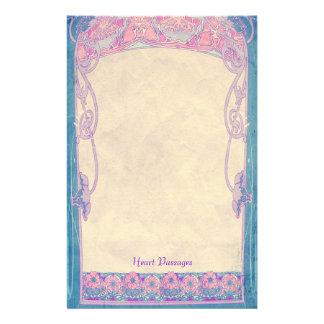 Heart Passages - Art Nouveau Stationery