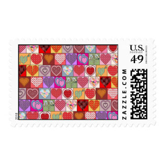 HEART PATCHES POSTAGE