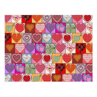 HEART PATCHES POSTCARDS