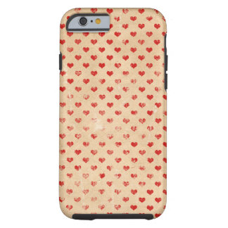 Heart pattern Alice in wonder country covers telep Tough iPhone 6 Case
