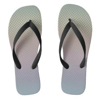 heart pattern flipflops flip flops