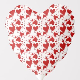 Heart Pattern Valentine's Day Balloon