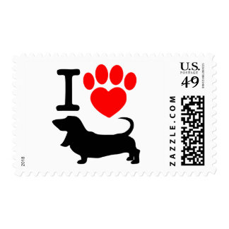 Heart paw stamps