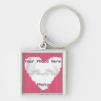 Heart Photo Frame Keychain