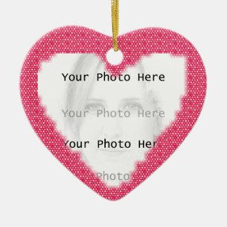 Heart Photo Frame Pendant Ornament