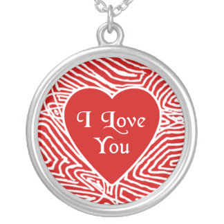 Heart Photo Frame Silver Plated Necklace