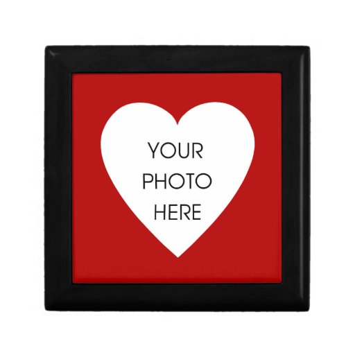 Heart Photo Jewelry Box