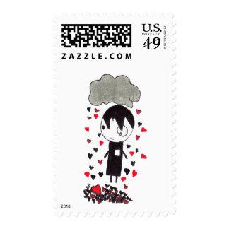 Heart Pile Postage