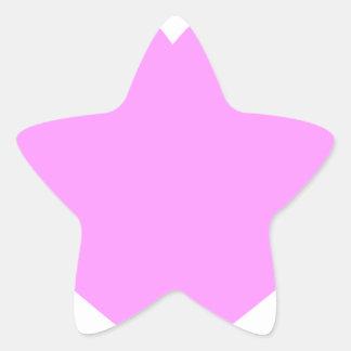 heart-pink.png pegatina en forma de estrella