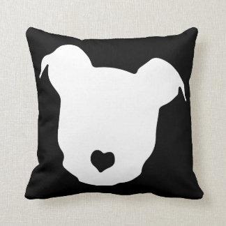 Heart ♥ Pit Bulls Pillow