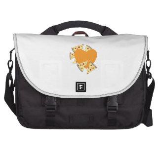 Heart Pizza Laptop Bag