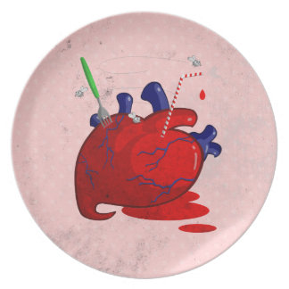 Heart Party Plates