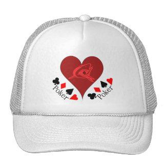 Heart Poker Hat! Trucker Hat