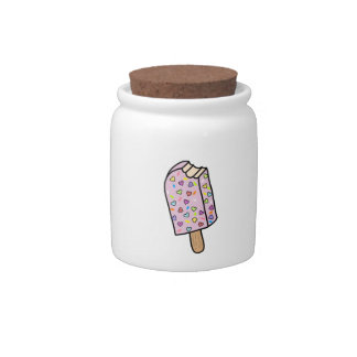 Heart Popsicle cute shirts, accessories, gifts Candy Dish