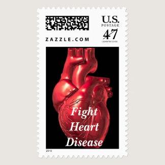 Heart  postage