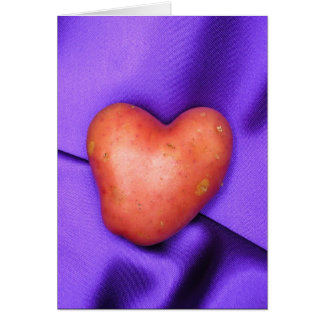 HEART POTATO card Cards