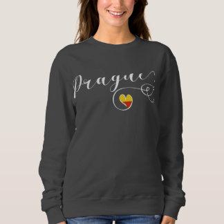 Heart Prague Sweatshirt, Czech Republic Sweatshirt