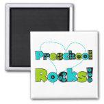 Heart Preschool Rocks T-shirts and Gifts Fridge Magnets