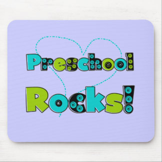 Heart Preschool Rocks T-shirts and Gifts Mouse Pad