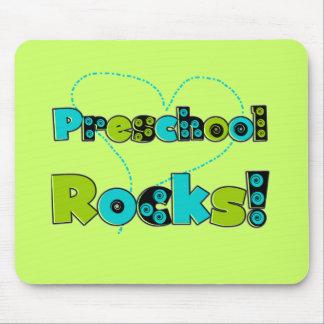 Heart Preschool Rocks T-shirts and Gifts Mousepads