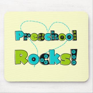 Heart Preschool Rocks T-shirts and Gifts Mousepad