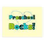 Heart Preschool Rocks T-shirts and Gifts Postcard
