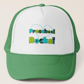 Heart Preschool Rocks T-shirts and Gifts Trucker Hat