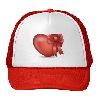heart_present trucker hat