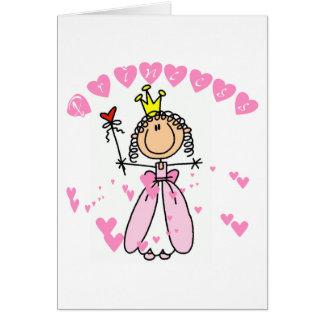 Heart Princess Tshirts and Gifts Card