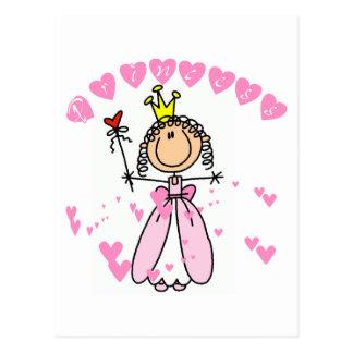 Heart Princess Tshirts and Gifts Postcard