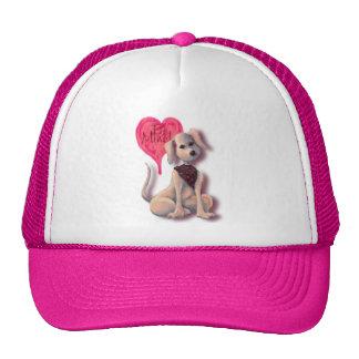 HEART PUPPY BE MINE by SHARON SHARPE Trucker Hat