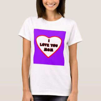 Heart Purple Transp Filled The MUSEUM Zazzle Gifts T-Shirt