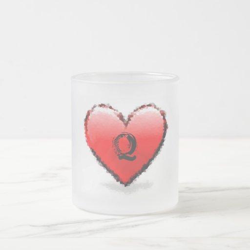 Heart -Q- Mug