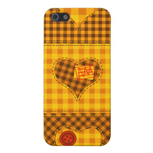 Heart Quilt iPhone 5 Cover