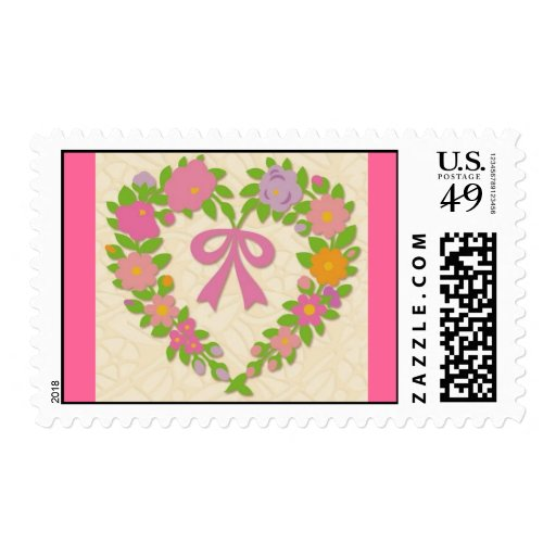 Heart Quilt. Stamps