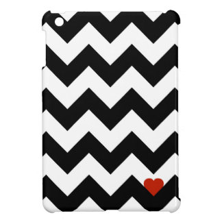 Heart & Rafter - Red Black/Traditional Case For The iPad Mini