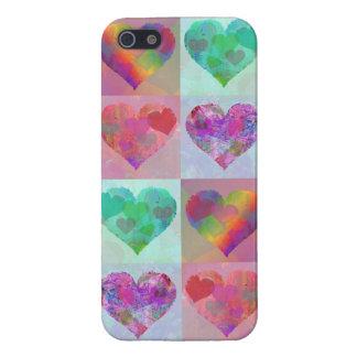 HEART RAINBOW DESIGN iphone case cute abstract