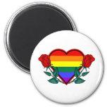 Heart Rainbow Fridge Magnet