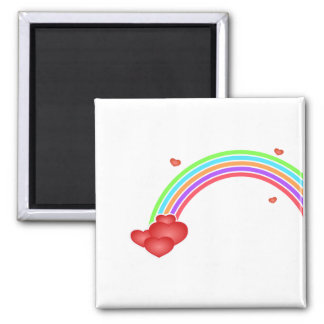 Heart Rainbow Magnet