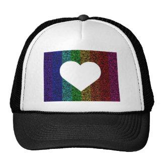 Heart Rainbow Trucker Hat