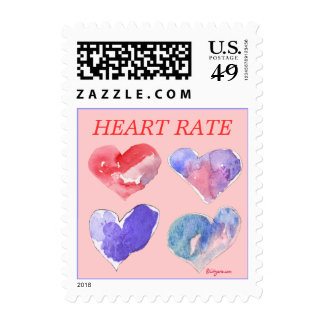 Heart Rate Small Love Violet Postage