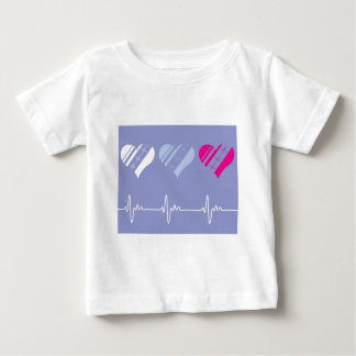 Heart Rate vector Baby T-Shirt