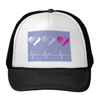 Heart Rate vector Trucker Hat