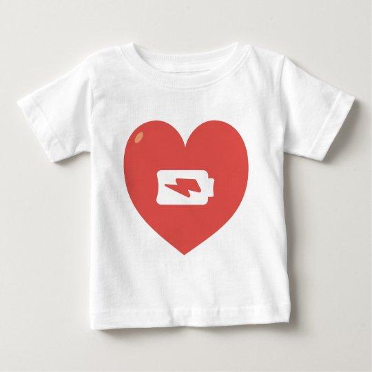 Heart Recharging Baby T-Shirt
